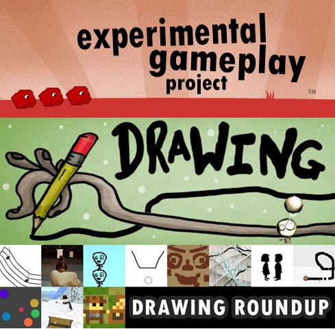 Experimental Gameplay Project drawing roundup